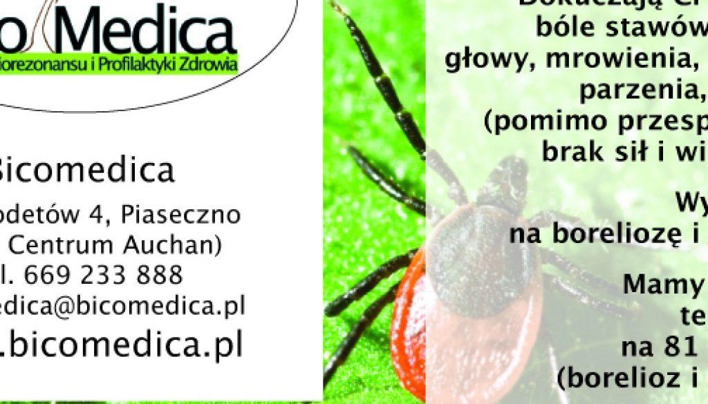 Leczenie boreliozy w naszym centrum – spot w Przeglądzie Piaseczyńskim